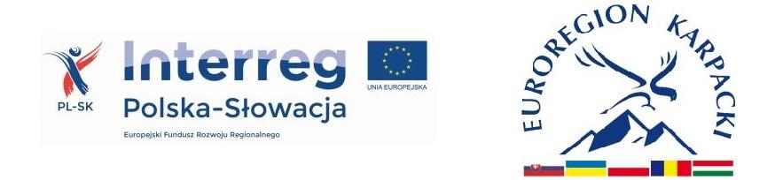 Baner Interreg V A PL SK 2014 2020 i Stowarzyszenia Euroregion Karpacki Polska